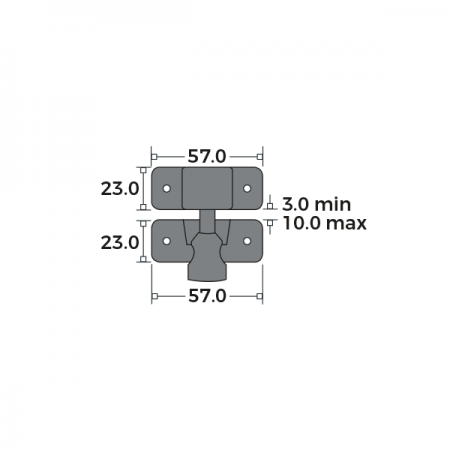 Brighton Fastener Locking Dimensions
