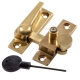 Luxury Forged Straight Arm Fastener - polished-brass