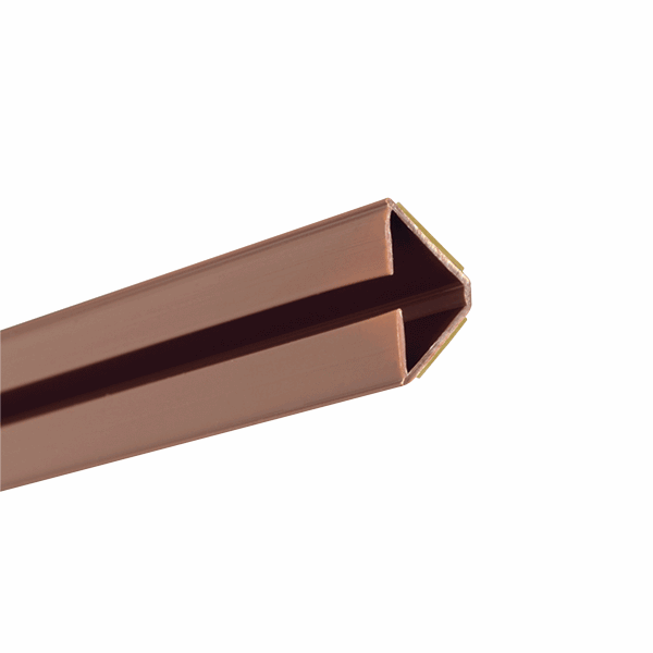 Acoustic Corner Seal - 12-x-12mm - brown