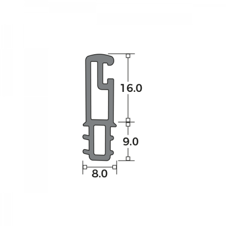 Direct Fit Parting Bead Dimensions