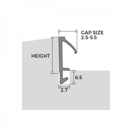 Easy Insertion Weatherseal F Series Dimensions