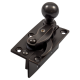 Security Hook Fastener - oil-rubbed-bronze