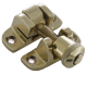 Luxury Forged London Pattern Brighton Fastener - non-locking - polished-brass