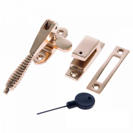 Luxury Forged Reeded Arm Locking Fastener