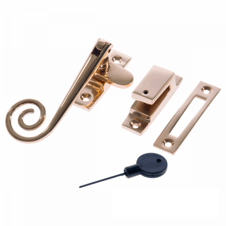 Luxury Forged Spiral End Locking Fastener