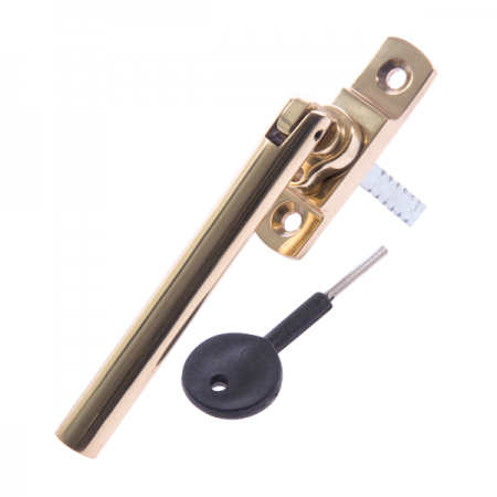 Luxury Forged Tempo Espagnolette Security Handle - Slimline