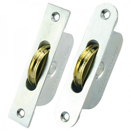 Galvanised Axle Wheel Sash Pulley