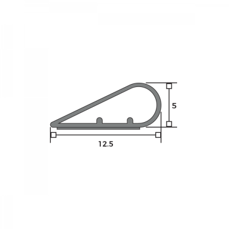Harmony® Acoustic Teardrop Seal Dimensions