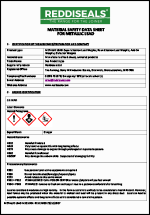 Lead Weight Material Safety Datasheet
