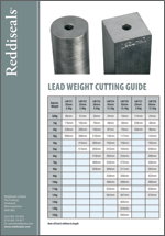 Lead Weight Cutting Guide
