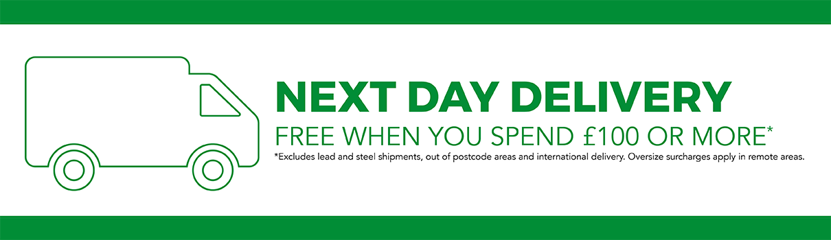 Next Day Delivery Free Over 100 pounds