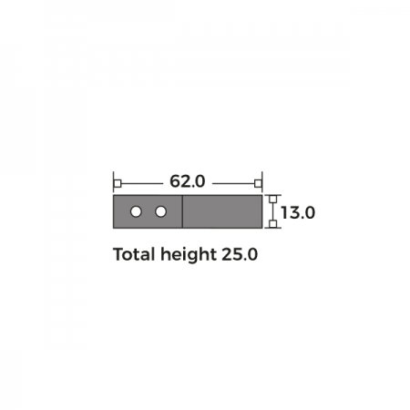 Oval Flat Sash Ring Dimensions