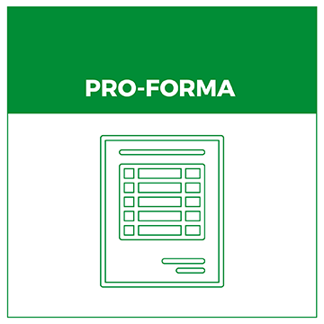 Pay by Pro Forma