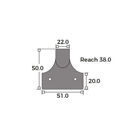 Raised Sash Lift Dimensions