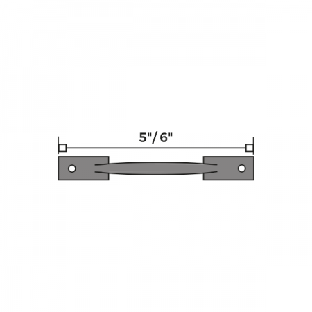 Sash Handle Dimensions