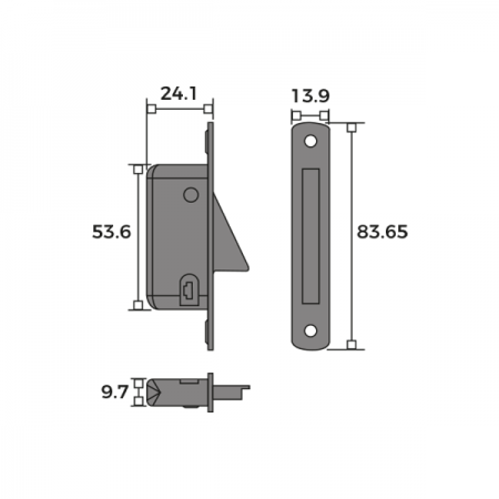 Sash Window Restrictor Face Fix Dimensions