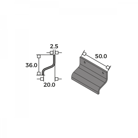 Small Flat Sash Lift Dimensions