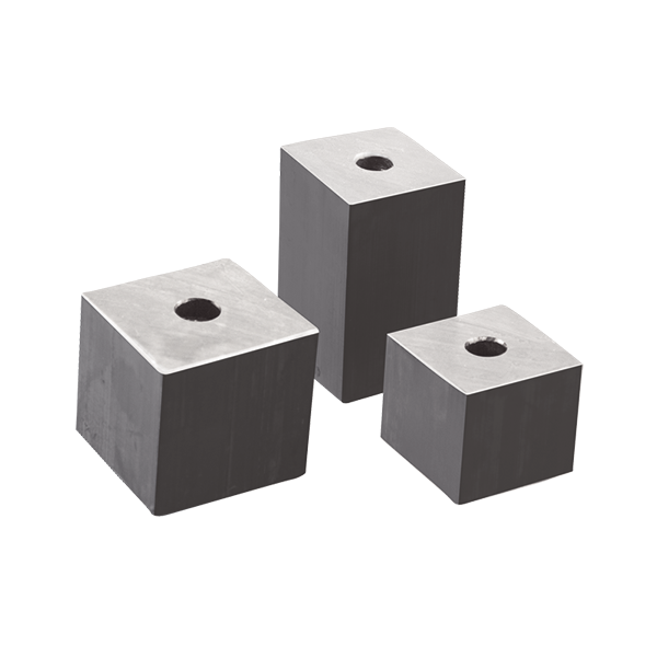 Square Add On Lead Weight