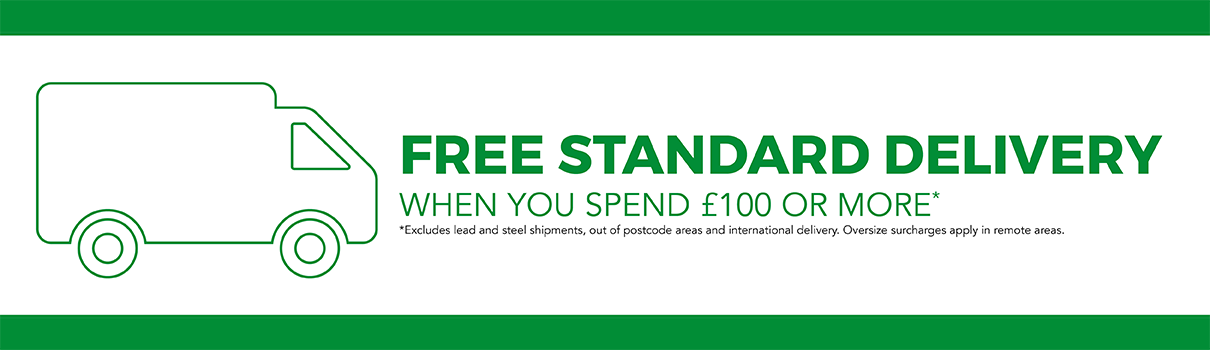 Free Standard Delivery Banner