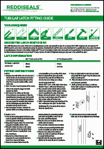 Tubular Latch Fitting Guide
