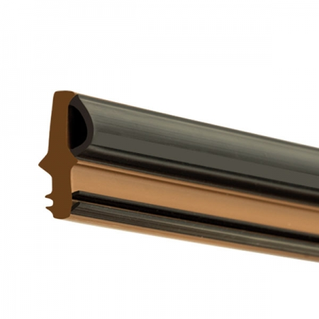 WEATHERBAR PLUS DOOR THRESHOLD BUBBLE SEAL BROWN