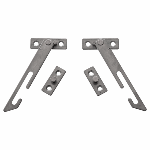 Long Arm Auto Restrictor - stainless-steel
