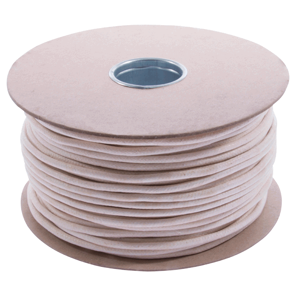 UK Manufactured Waxed Cotton Sash Cord - 5mm-diameter