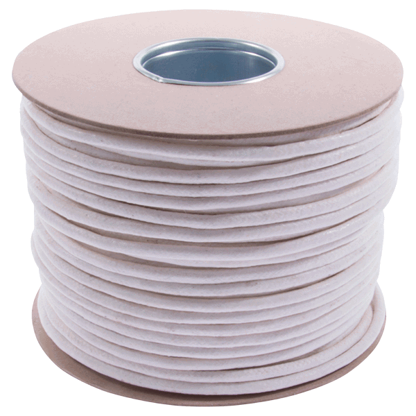 UK Manufactured Waxed Cotton Sash Cord - 6mm-diameter