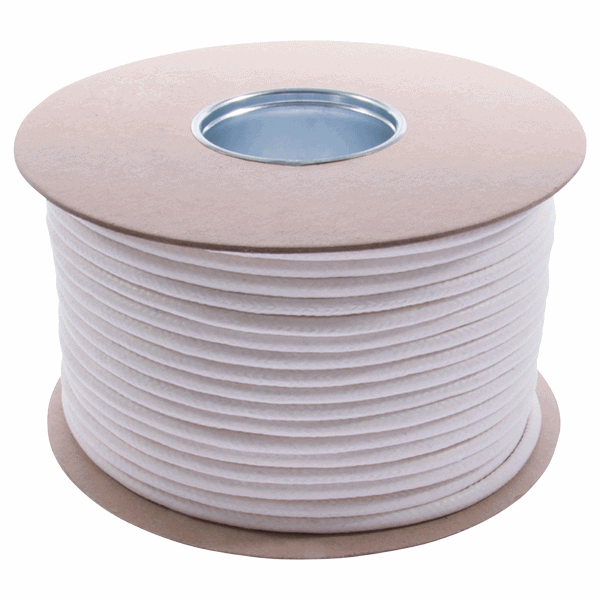UK Manufactured Waxed Cotton Sash Cord - 8mm-diameter