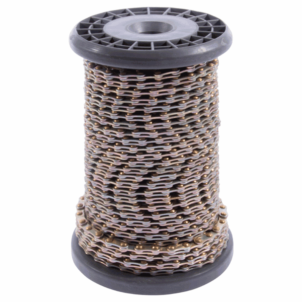 Sash Chain - 20mm-single-link - yellow-zinc