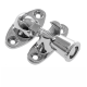 Budget Brighton Fastener - polished-chrome