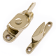 Classic Fitch Fastener - non-locking - polished-brass