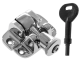 Luxury Forged London Pattern Brighton Fastener - locking - polished-chrome
