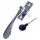 Luxury Forged Spoon End Espagnolette Security Handle - Traditional - right-handed - polished-chrome