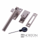 Luxury Forged Tempo Locking Fastener - satin-steel