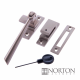 Luxury Forged Bolero Fastener - satin-steel