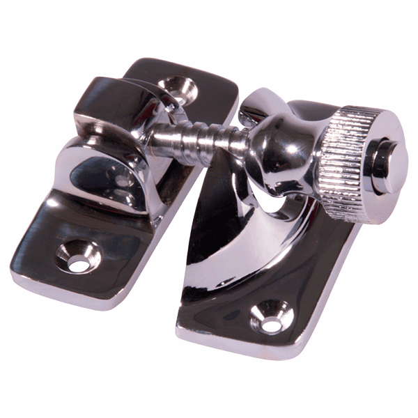 Brighton Fastener - non-locking - polished-chrome