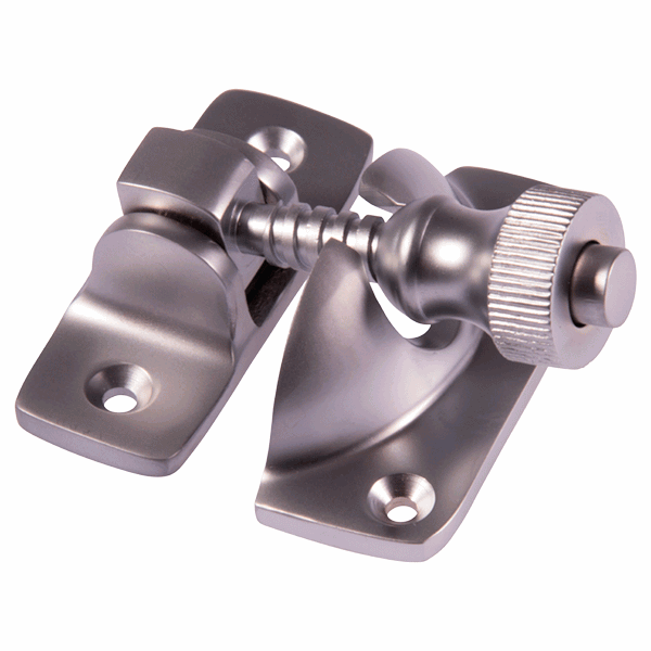 Brighton Fastener - non-locking - satin-chrome
