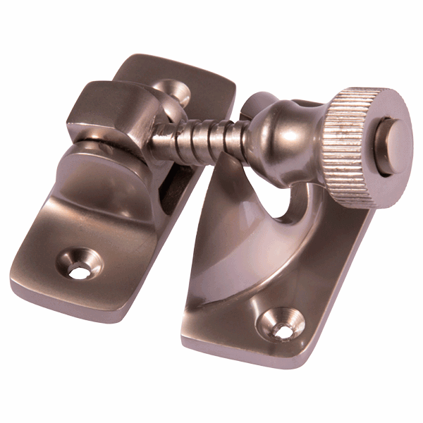 Brighton Fastener - non-locking - satin-nickel