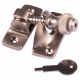 Brighton Fastener - locking - satin-nickel
