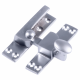 Quadrant Arm Fastener - small-keep-15mm - satin-chrome