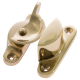 Standard Fitch Fastener - non-locking - polished-brass