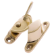 Narrow Fitch Fastener - non-locking - polished-brass