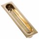 Traditional Sash Pull - polished-brass