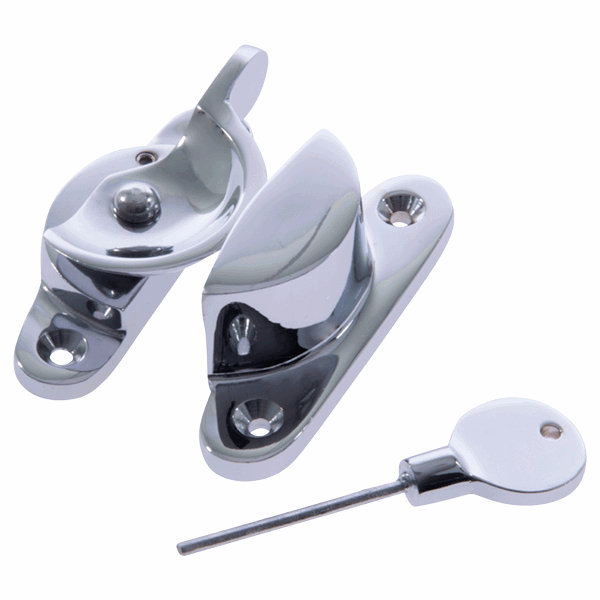Fitch Fastener - standard - yes - polished-chrome
