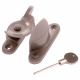 Standard Fitch Fastener - locking - satin-nickel