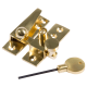 Straight Arm Fastener - polished-brass