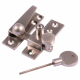 Straight Arm Fastener - satin-nickel