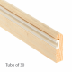 Timber Parting Bead 7 x 25mm - natural - 30-x-3m-length