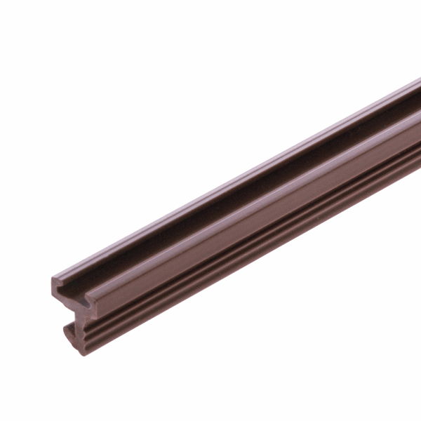 Centre Leg Pile Carrier - for-3mm-groove - brown - 1-x-2-2m-length